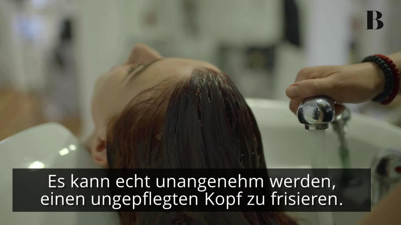 Das wünscht sich euer Friseur beim nächsten Besuch von euch!