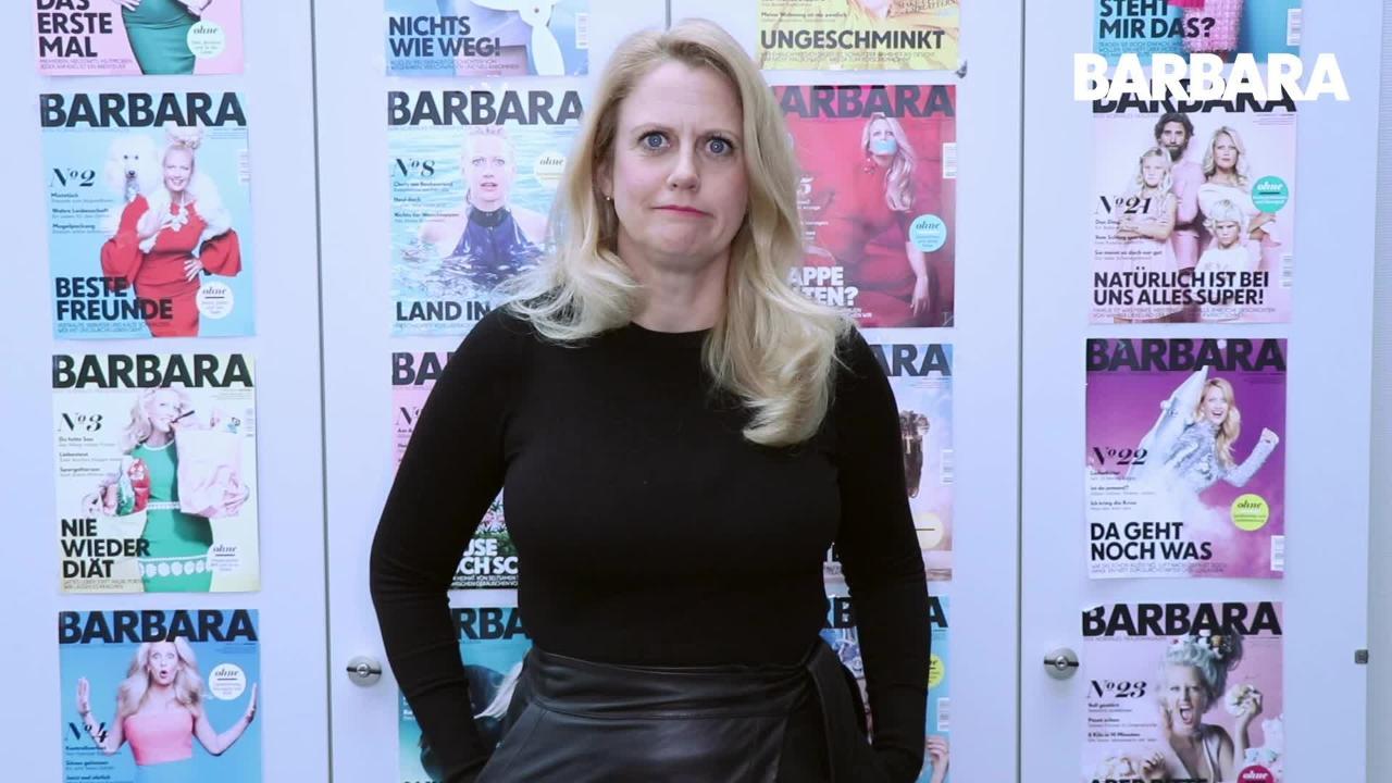 Barbara, was wolltest du früher mal werden?