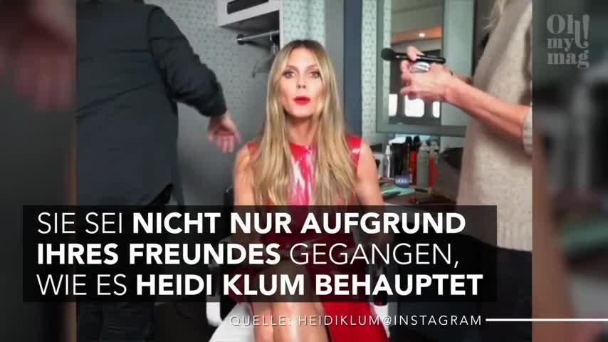 GNTM-Kandidatin packt aus: Alles Fake bei Heidi?