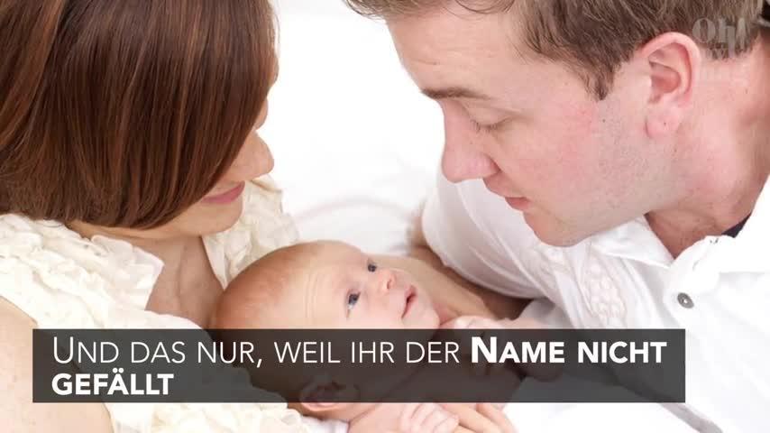 Schwiegermutter ändert heimlich Babynamen, während Mutter sich von der Geburt erholt!