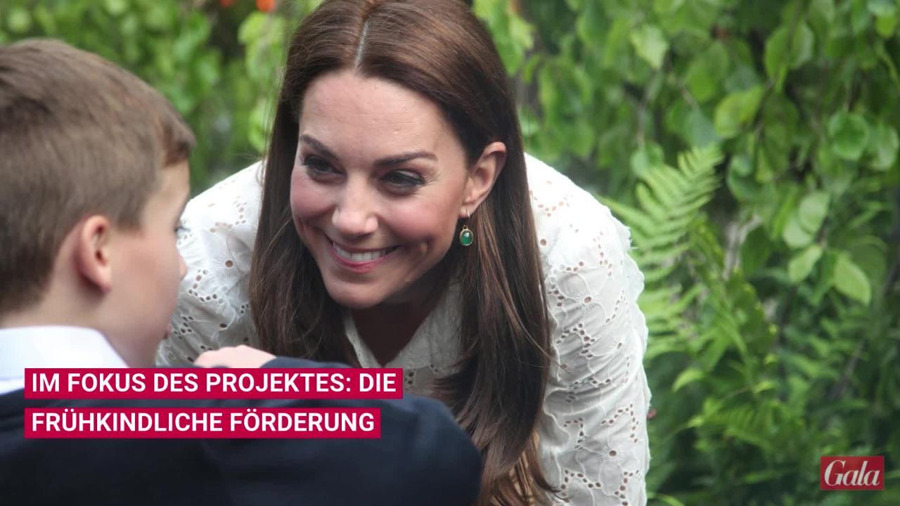 Königliches Treffen: Queen Elizabeth II. besucht Herzogin Kates Gartenprojekt