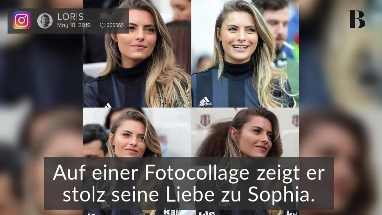 Sophia Thomalla: Kitschige Liebeserklärung von Loris Karius