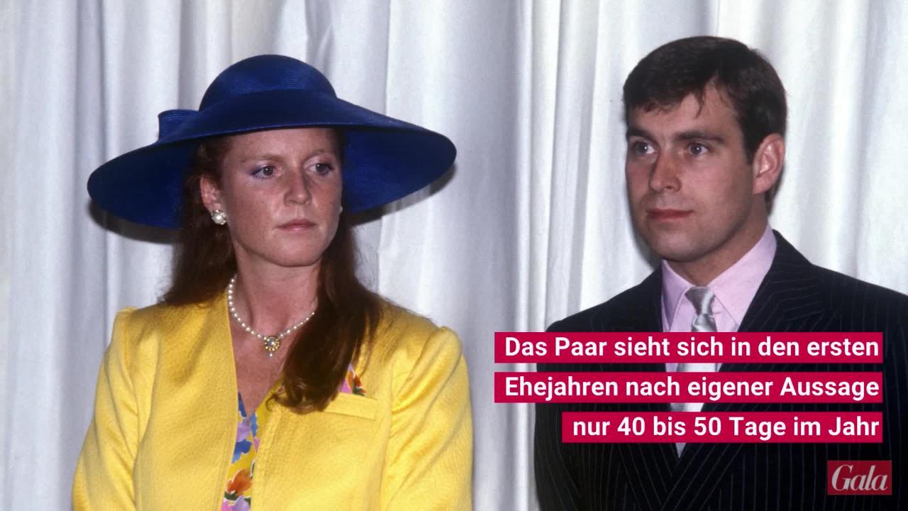 Sarah Ferguson und Prinz Andrew: So turbulent war ihre Beziehung wirklich!