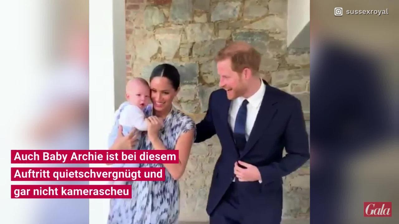 Meghan Markle: SIE sind die Taufpaten von Baby Archie