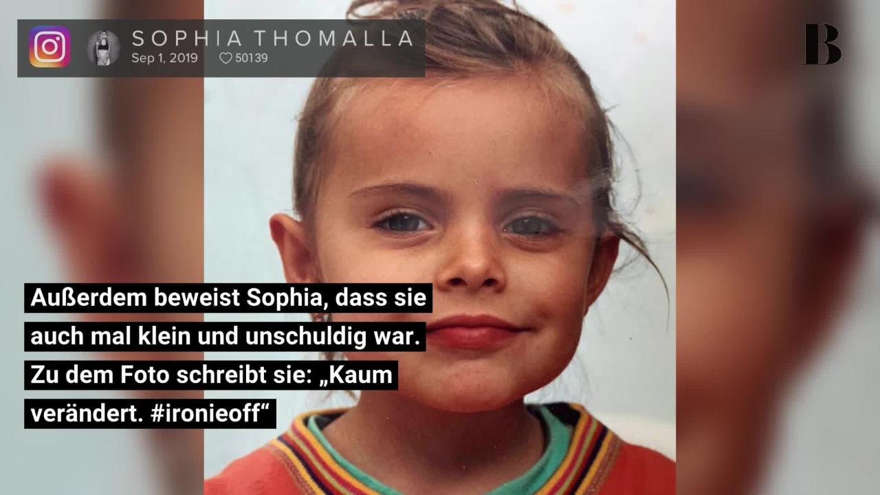 Sophia Thomalla: Ungesehenes Leder-Foto enthüllt