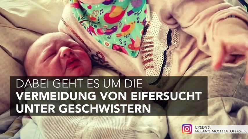 Melanie Müller: Erziehungstipps für alle Mamas nach zweiter Geburt