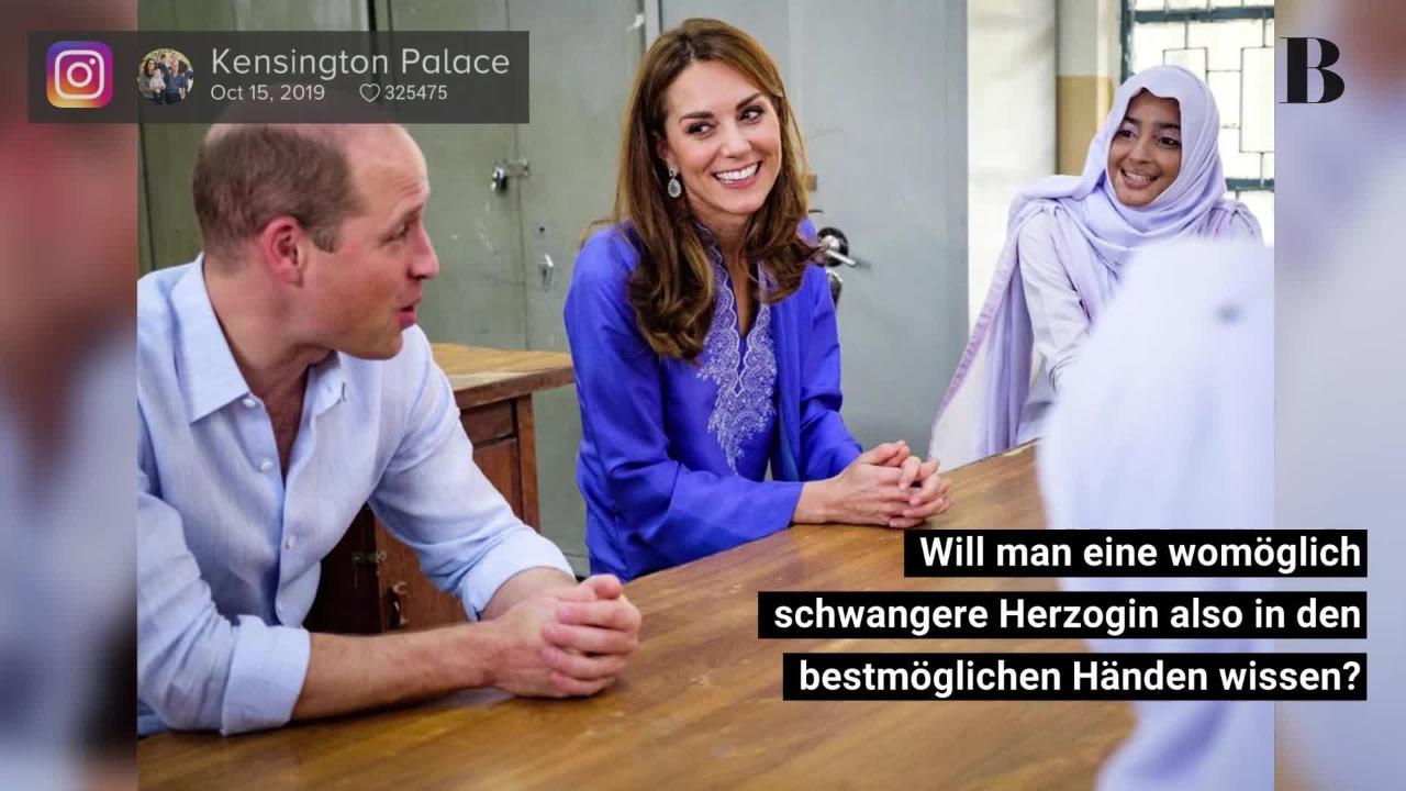 Herzogin Kate: Doch schwanger? Dieses Foto heizt neue Gerüchte an