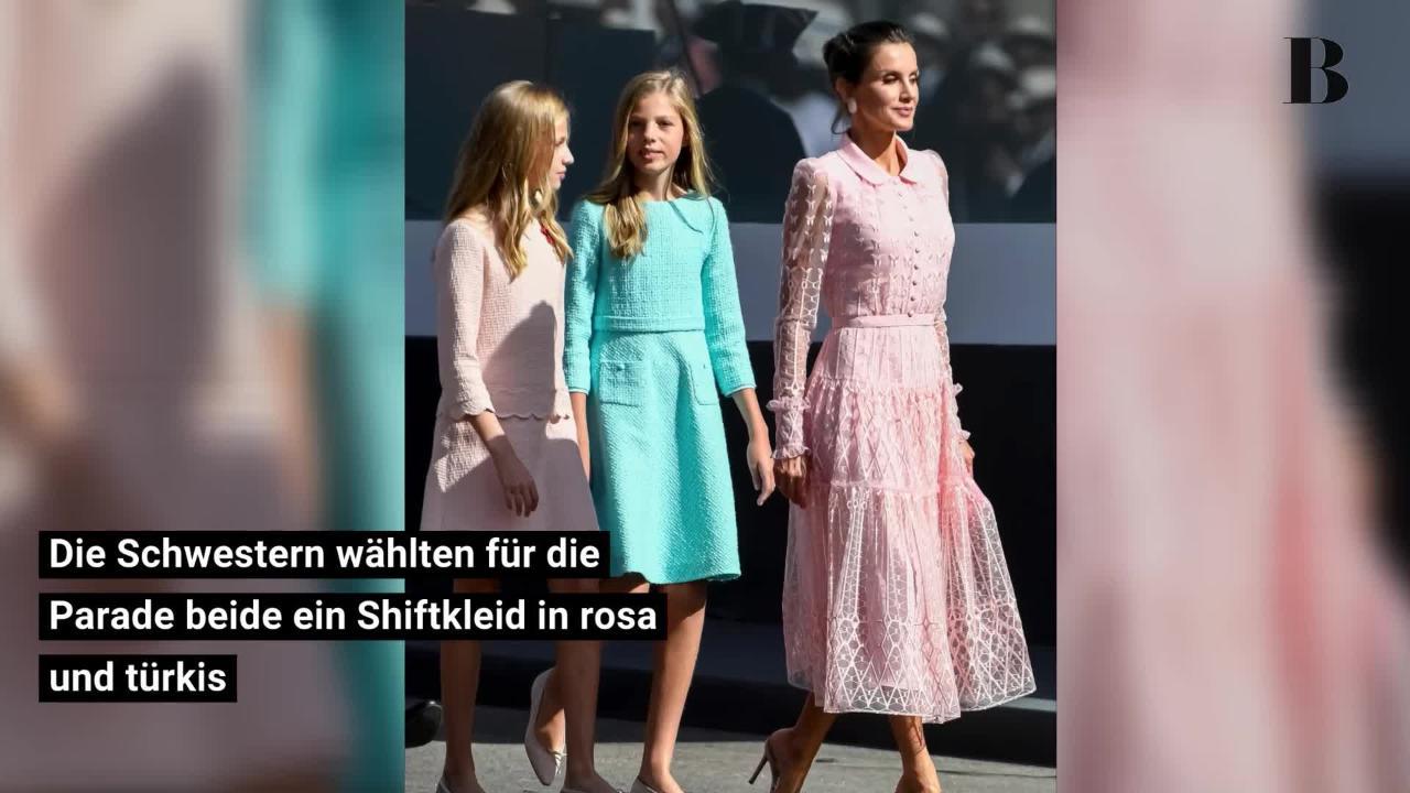 Königin Letizia und ihre Prinzessinnen: Dieses Mutter-Töchter-Team hat einfach Stil!