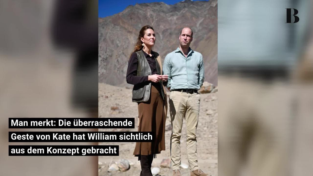 Kate Middleton: Mit diesem Kompliment macht sie William total verlegen!