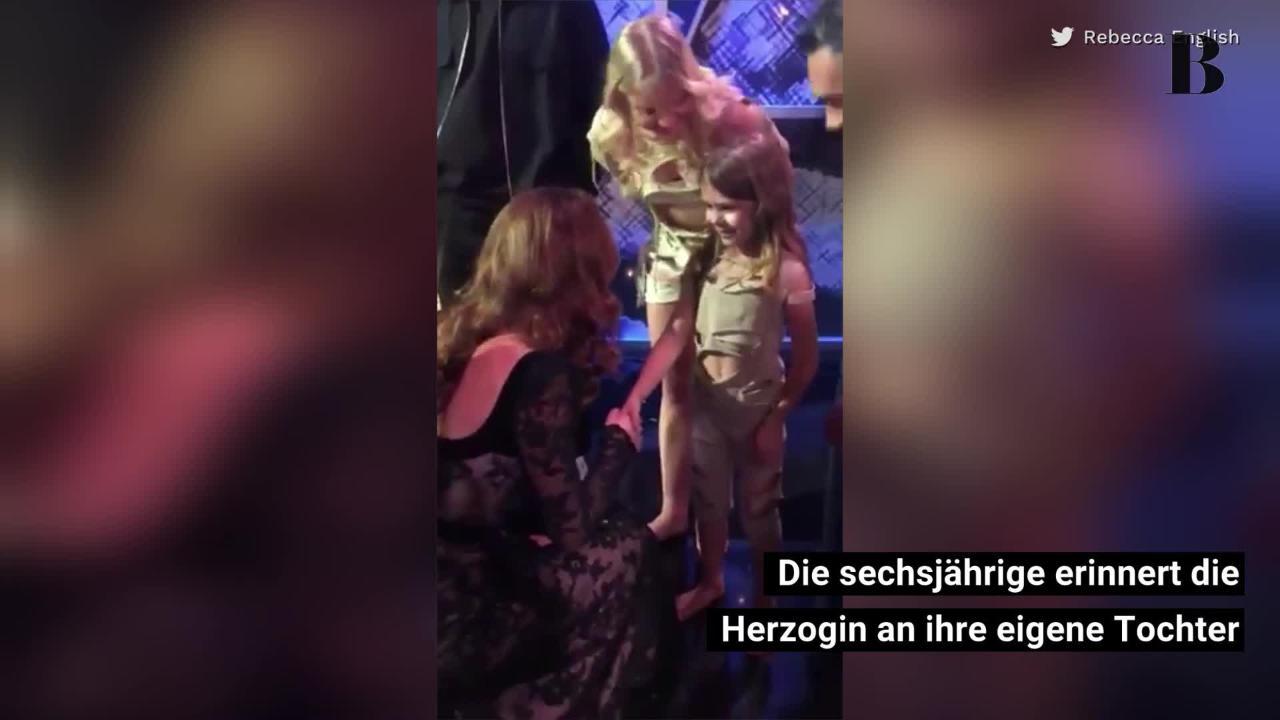 Herzogin Kate verrät Prinzessin Charlottes Lieblingsfrisur